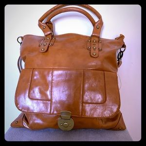 NWOT large brown bag.
